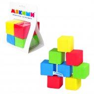 Игрушка «Кубики» 4 цвета, 332.