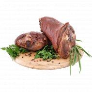 Рулька копчено-вареная «Сельская» из свинины, 1 кг, фасовка 1-1.1 кг