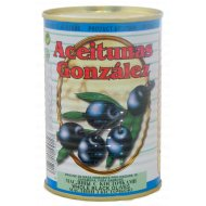 Маслины «Aceitunas Gonzalez» с косточкой 425 г.