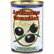 Маслины «Gonzalez» без косточек, 425 г.