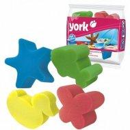 Набор губок для ванны «York» 4 шт.