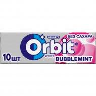 Жевательная резинка «Orbit White» bubblemint, 14 г.