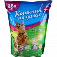 Наполнитель силикагелевый «Кошкина Полянка», лаванда, 3.8 л.