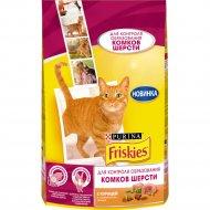 Корм для кошек «Friskies» с курицей и овощами, 1.5 кг.