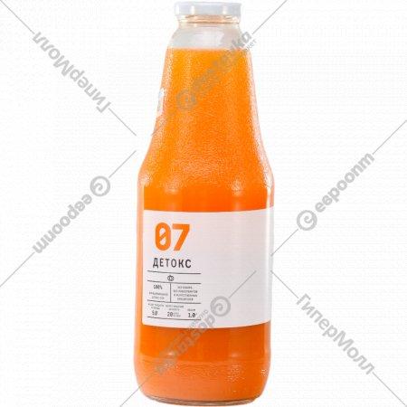 Сок овощной «Детокс 07» 1 л.