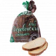 Хлеб «Деревенский с тмином» нарезанный, 250 г.