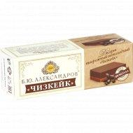 Десерт творожный «Б.Ю.Александров» чизкейк, шоколадный, 15%, 40 г