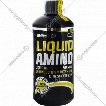 Аминокислоты «Biotech USA» Liquid Amino, лимон, 1000 мл.