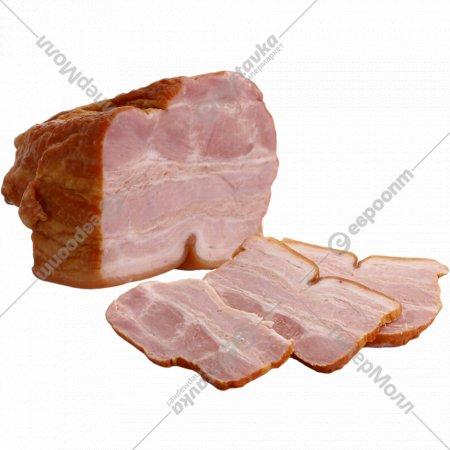 Продукты из свинины «Грудинка Брестская» копчено-вареная 1 кг., фасовка 0.3-0.55 кг