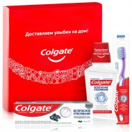 Набор «Colgate» безопасное отбеливание, для ухода за полостью рта.