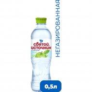 Напиток «Святой Источник» со вкусом яблока, 0.5 л