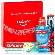 Набор «Colgate» total, для ухода за полостью рта.
