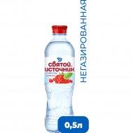 Напиток «Святой Источник» со вкусом клубники, 0.5 л