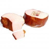 Продукт из свинины «Ветчина Брестовская» копчено-вареный, 1 кг., фасовка 0.3-0.5 кг