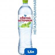 Напиток «Святой Источник» со вкусом яблока, 1.5 л