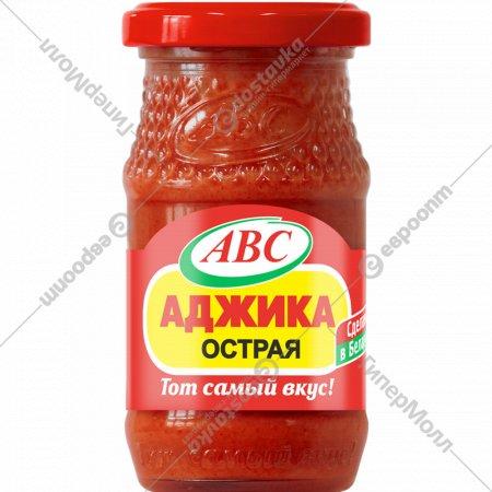 Кетчуп «АВС» Аджика острая, 160 г.