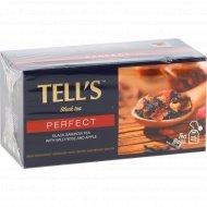 Чай черный байховый «Tell's» с шиповником и яблоком, 25 x 1.5 г.