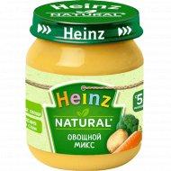 Пюре «Heinz» овощной микс, 120 г.
