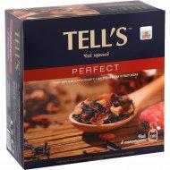 Чай черный байховый «Tell's» с шиповником и яблоком, 100 x 1.5 г.