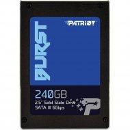 SSD диск «Patriot» Burst 240GB PBU240GS25SSDR.