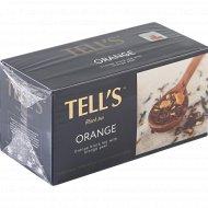 Чай черный байховый «Tell's» с апельсином, 25 пакетиков.