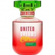 Туалетная вода «Benetton» United Dreams Citrus, женская, 80 мл