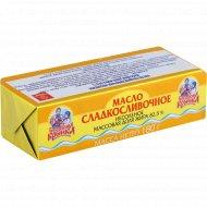Масло сладкосливочное «Бабушкина крынка» несоленое, 82.5%, 180 г