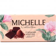 Горький шоколад «Michelle» с трюфельной начинкой, 90 г.
