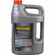 Масло моторное синтетическое универсальное «Havoline Ultra» 5 л.