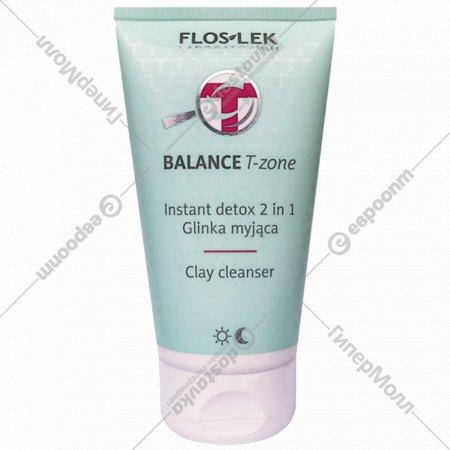 Очищающее средство для Т-зон «Floslek» 2 в 1, 125 мл
