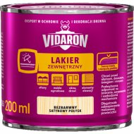 Лак «Vidaron» наружный, бесцветный сатиновый, 0.2 л