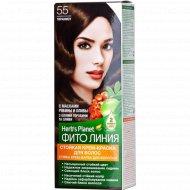 Стойкая крем-краска для волос «Herb's Planet» тон 55, тирамису.