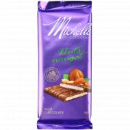 Шоколад молочный «Michelle» с ореховой нугой, 85 г.