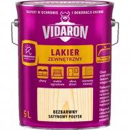 Лак «Vidaron» наружный, бесцветный сатиновый, 5 л