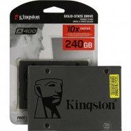 SSD диск «Kingston» A400 240GB SA400S37/240G.