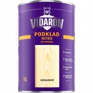 Лак «Vidaron» нитро для древесины, бесцветный глянец, 0.2л