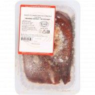 Печень свиная «По-слуцки» замороженная, 1 кг, фасовка 0.8-1 кг