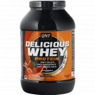 Протеин «Qnt» deliclous whey, клубника, 908 г.