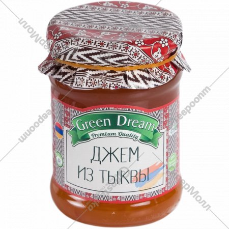 Джем из тыквы «Green Dream» 300 г.