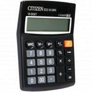 Калькулятор «Citizen» SDC-810 BN.