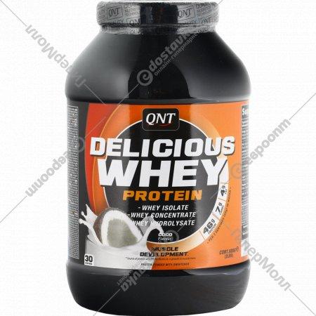 Протеин «Qnt» deliclous whey, кокос, 908 г.
