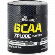 Комплекс аминокислот «Olimp» ВСАА Xplode Powder, фруктовый пунш, 280 г.