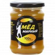 Мед натуральный «Мирный мед» 350 г.