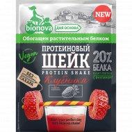 Протеиновый шейк «Bionova» с клубникой, 25 г.