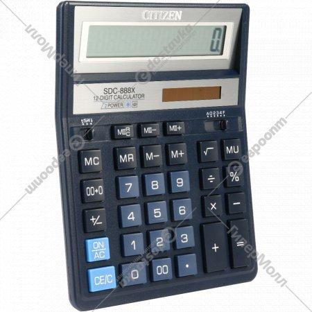 Калькулятор «Citizen» SDC-888 XBL.