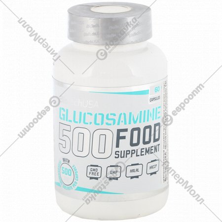 Глюкозамин «BioTech» 500, 60 капсул, 57 г.
