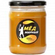 Мед натуральный «Мирный мед» 600 г.
