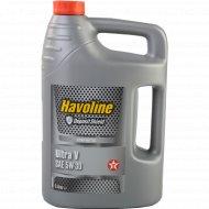 Моторное масло «Havoline ultra» 5 л.
