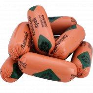 Сардельки вареные из мяса птицы «Лакомый край» высшего сорта, 1 кг, фасовка 0.6-0.8 кг