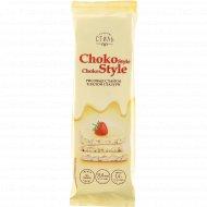 Рисовые слайсы «Choko Style» в белой глазури, 68 г.